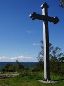 The cross of the first missionary