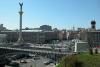 Independance square Kiev