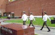 Guard change at the Kremlin Moscow