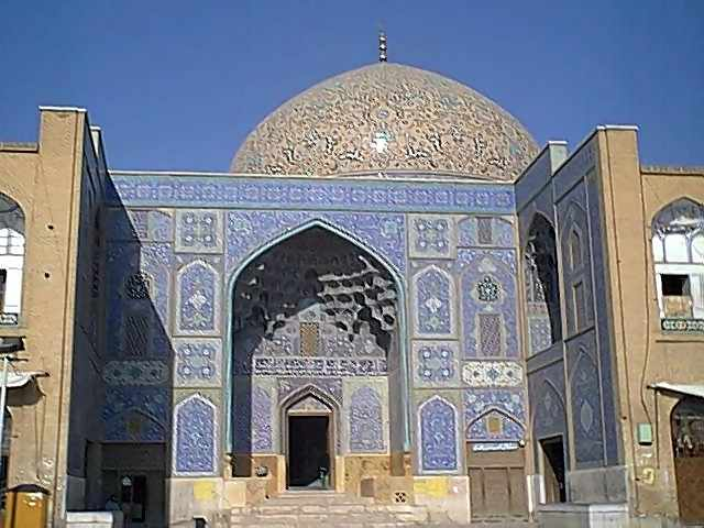 Ancient mosque in Isfahan